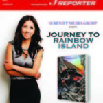 Journey to Rainbow Island Lands Cover of The Hollywood Reporter